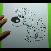 Como dibujar un perro paso a paso 11 | How to draw a dog 11