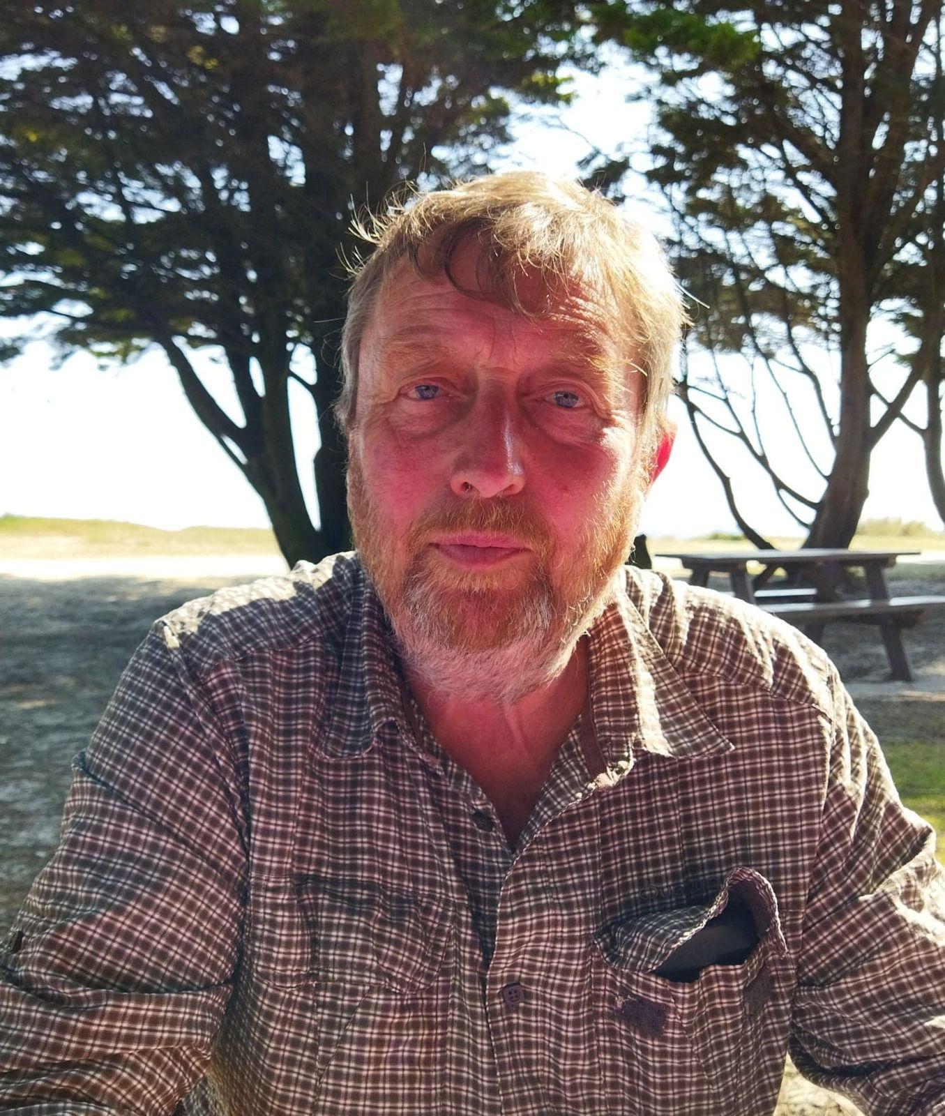 Guy Barré, candidat suppléant présenté par le PCF dans le canton de Plonéour-Lanvern