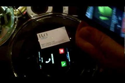 HzO Nanotechnology Seal Keeps Smartphone from Drowning - 2012 CES Press Preview in NYC