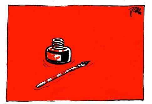 "VU DE TUNISIE ""Charlie Hebdo"" : proche de la bestialité"