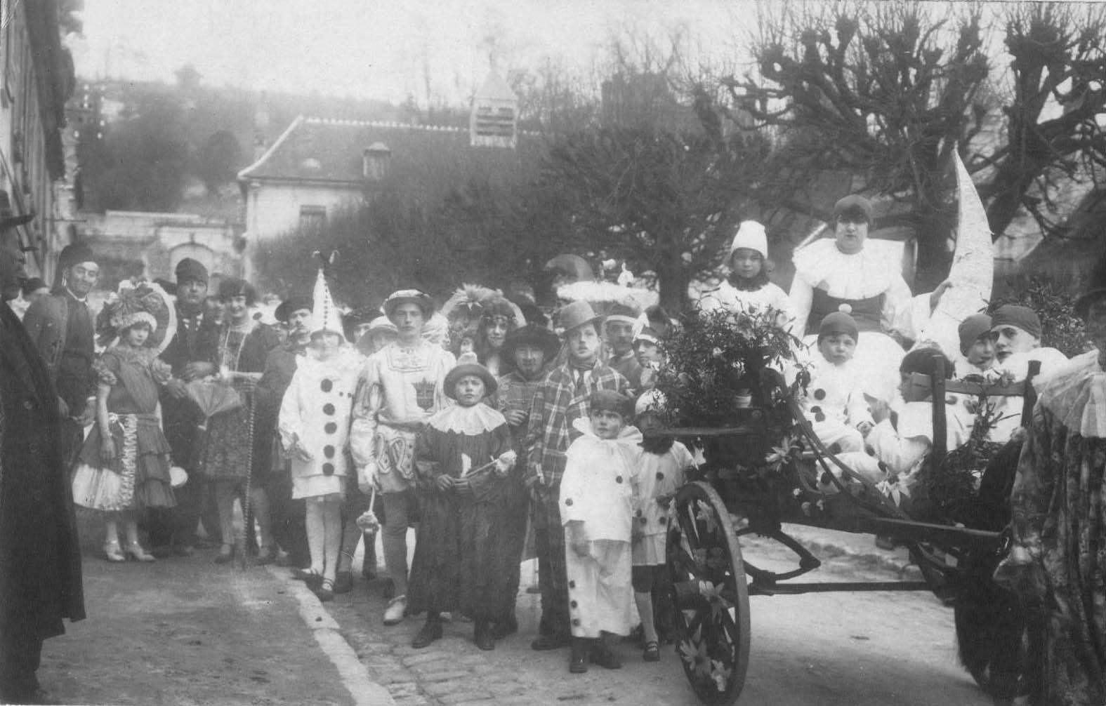 Album - le village de Berneuil-sur Aisne, le bouquet provincial