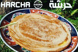 harcha traditionnelle à la poêle حرشة كبيرة  احسن من المحلبات