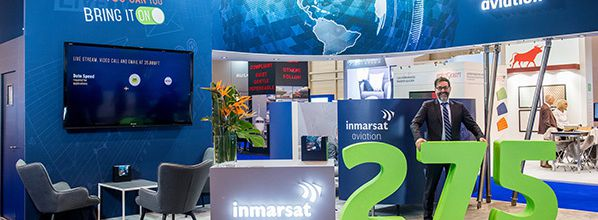 Inmarsat celebrates 275th installation of Jet ConneX business aviation inflight Wi-Fi solution
