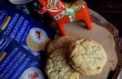 Havrekakor (Biscuits à l'Avoine Suédois)