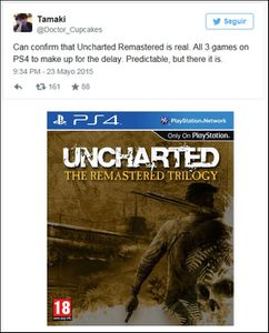 Uncharted The Remastered Trilogy : Quand a rumeur revient a la charge ...