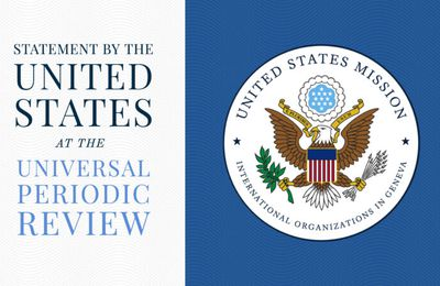 U.S. Statement at the Universal Periodic Review of Rwanda | U.S. Embassy in Rwanda
