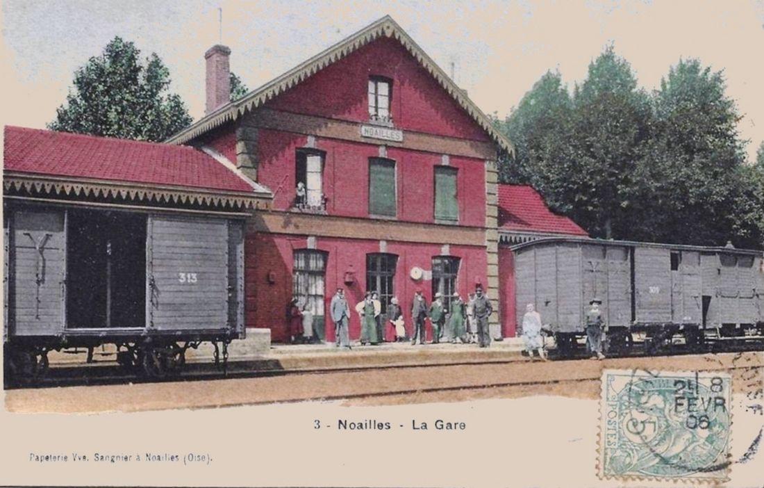 Ancienne Gare de Noailles (Oise) -suite 11