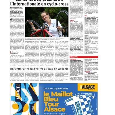 VCS 2021: L'Alsace du 20 juillet 2021
