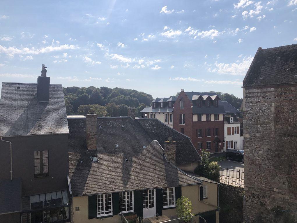 Saint-Valéry-sur-Somme, la ville haute.