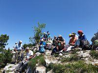 Randonnée ADAPAR en boucle depuis le Mont Devant près de Bellecombe-en-Bauges jusqu'au Roc des Boeufs 07.06.19