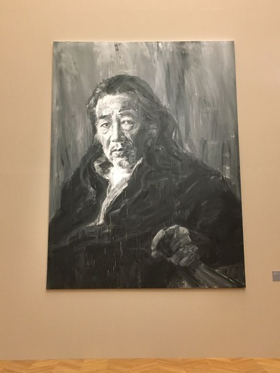 Yan Pei-Ming / Courbet, Corps à corps