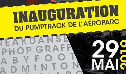 Inauguration Pumptrack, Yutz le 29 mai 2019