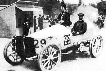Paris-Madrid en mai 1903 : Excursion et course