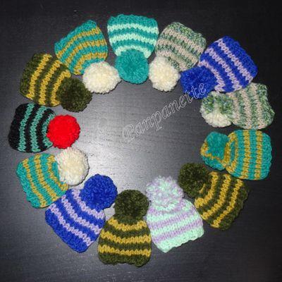 Petits bonnets 2015 semaine 29