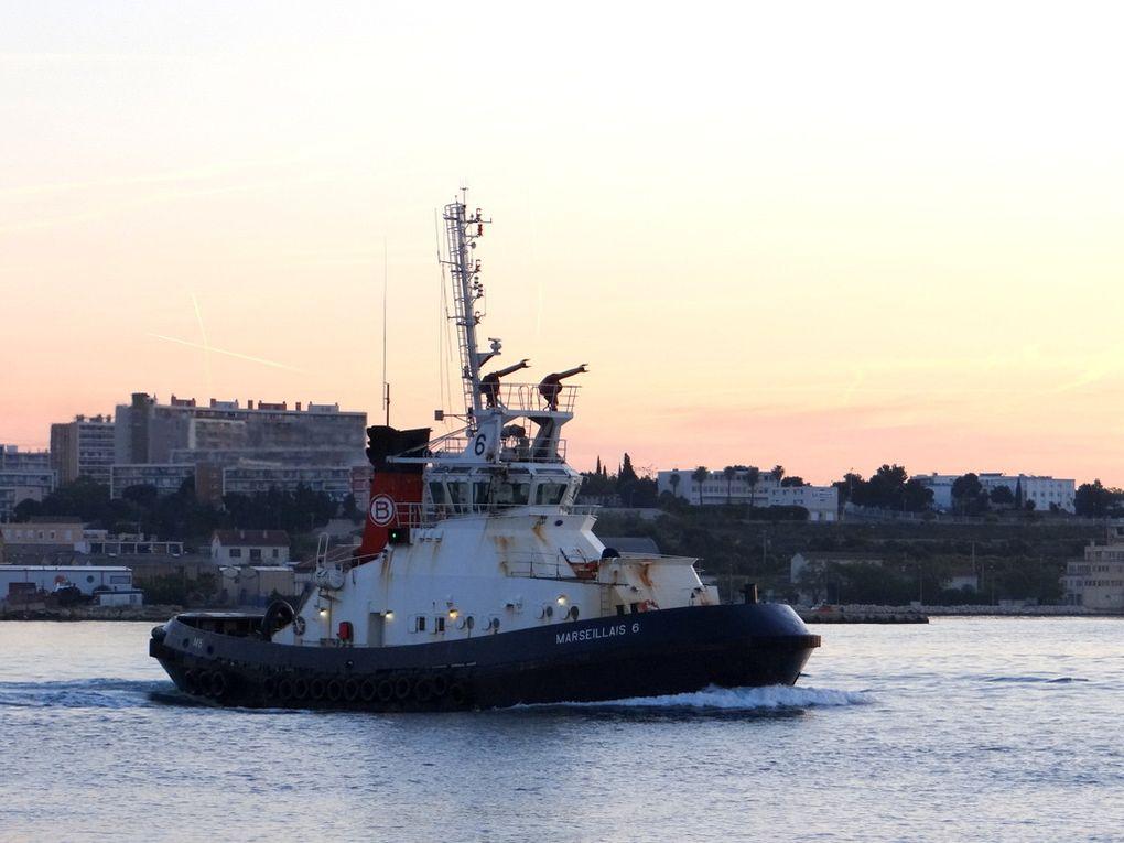MARSEILLAIS 6 , appareillant de Port de Bouc  ,pour le golfe de Fos sur Mer le 21 mai 2016