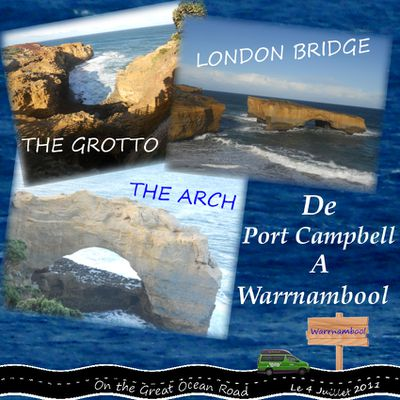 Du 4 au 6 Juillet 2011 : Warrnambool
