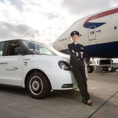 British Airways offre un service en taxi anglais