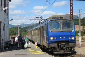 Le parc des éléments automoteurs électriques TER de la SNCF