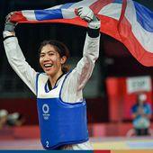 Début en fanfare pour la Thaïlande aux J.O. de Tokyo. - Noy et Gilbert en Thaïlande