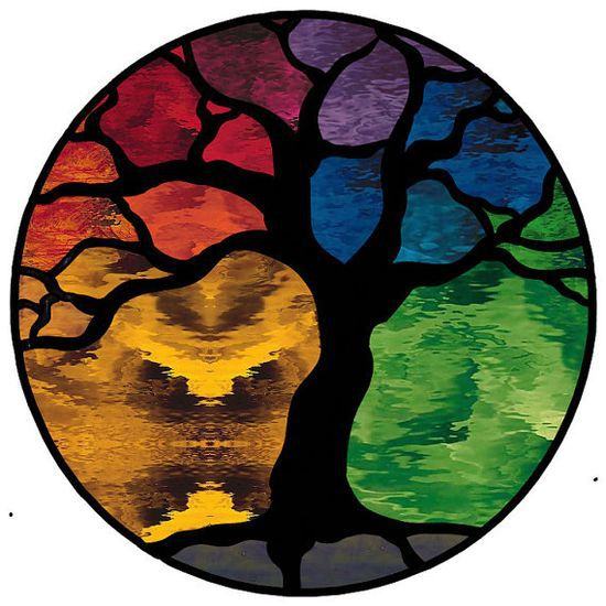 Tree of Life Stained