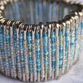 Redfly Creations: DIY Safety Pin Bracelet
