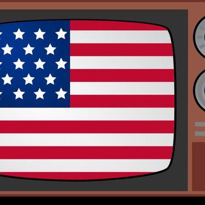 L'Américaine télé française.