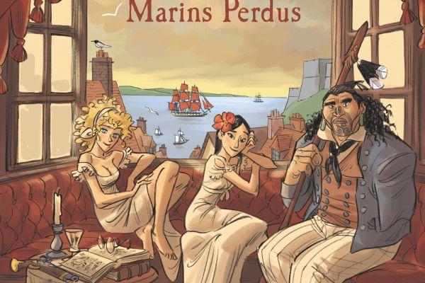 Les Filles des marins perdus / BANDE DESSINEE / Teresa Radice et Stefano Turconi