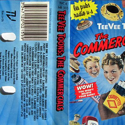TeeVee toons - The Commercials - Les pubs radio U.S.