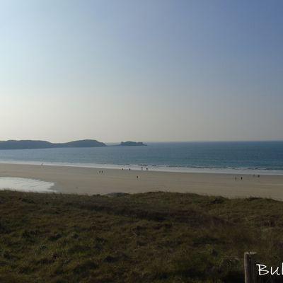 La plage des Blancs Sablons..