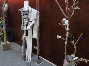 Création-recyclage / exposition à la MPT de Penhars