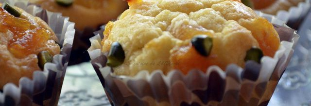 Muffins aux abricots et pistaches