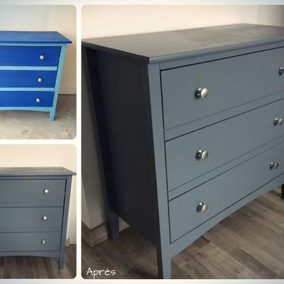 COMMODE 3T / GRISE