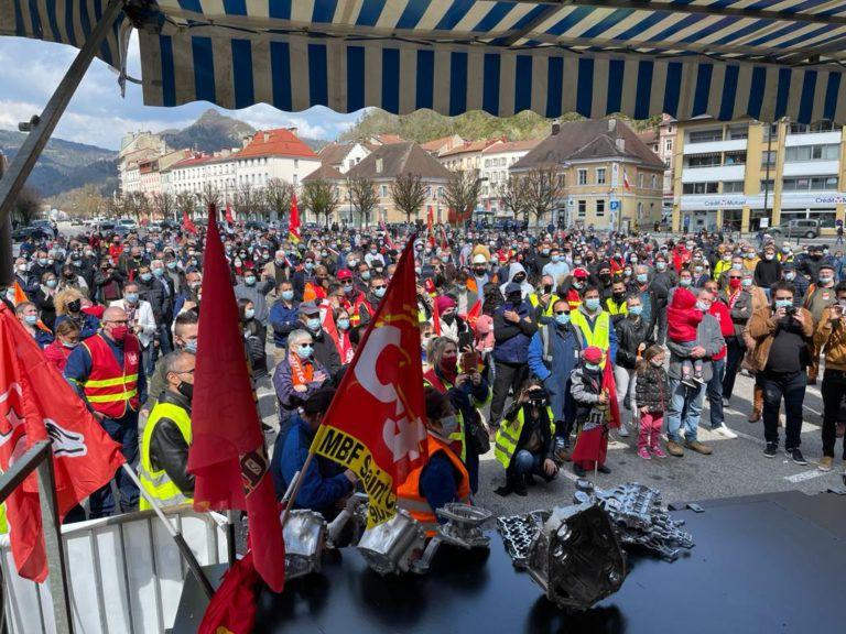 Plus de 1000 avec les MBF Jura : Tout un bassin mobilisé pour la industrialisation
