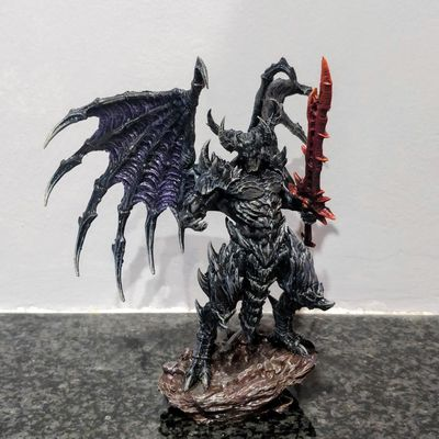 Creature Caster's Lord of Malice, painted