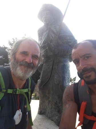 Étape 29 : Cabo Fisterra - Retour Santiago – nuit Santiago : 12 km (773 km)