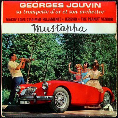 Georges Jouvin, sa trompette d'or et son orchestre - Mustapha EP - 1960