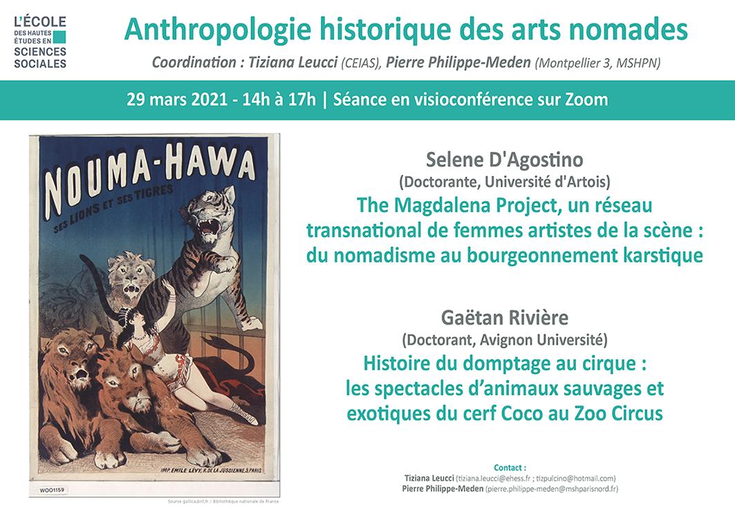 Anthropologie historique des arts nomades (S. D'Agostino / G. Rivière)