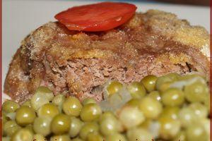 Une nouvelle façon de cuisiner le steack ... Pané avec des épices