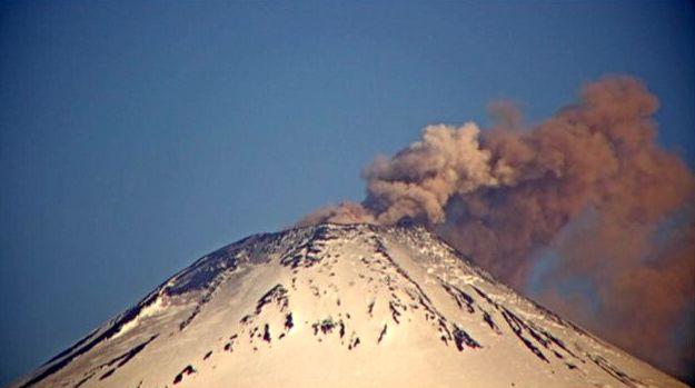 Villarica - explosion du 05.12.2020 / 18h44 - Doc. Sernageomin