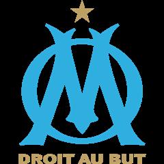 """l'emblème de l'équipe de foot """"Olympique de Marseille"""""""