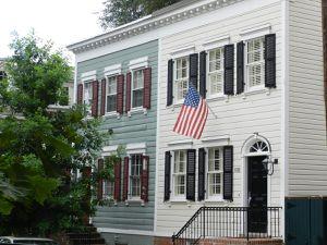 Une maison de Georgetown.