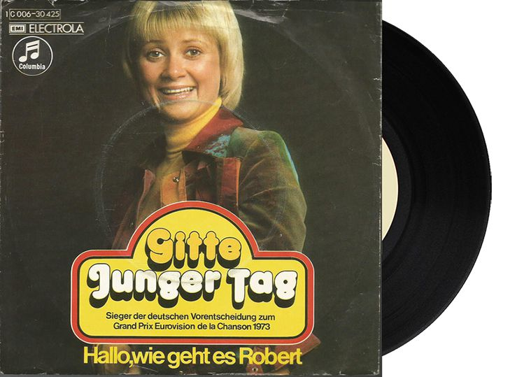 "8th - Germany - Gitte ""Junger Tag"" (85 points)"