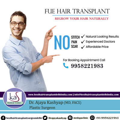 Three Benefits of FUE Hair Transplant Treatment