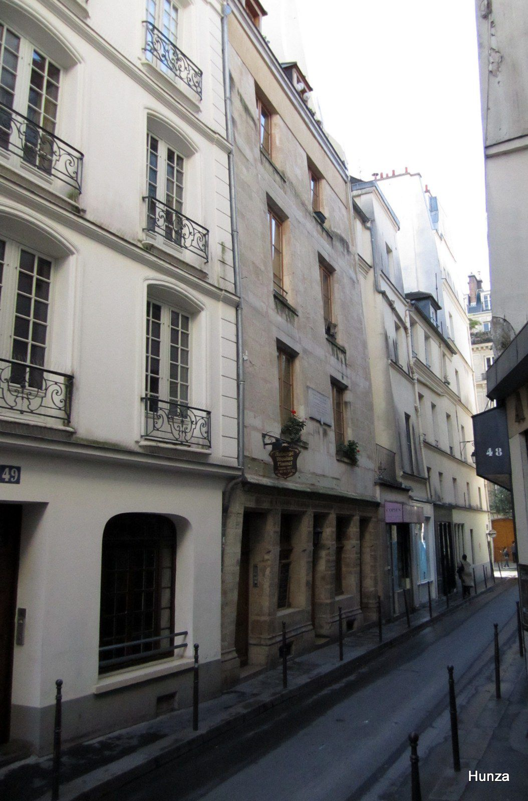 Paris, maison de Nicolas Flamel