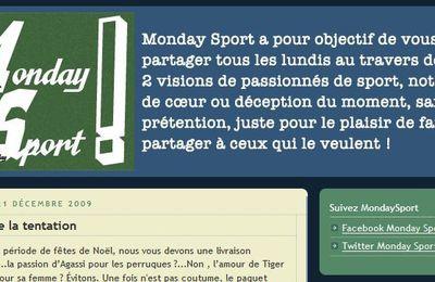 Comme un lundi ... avec Monday Sport !