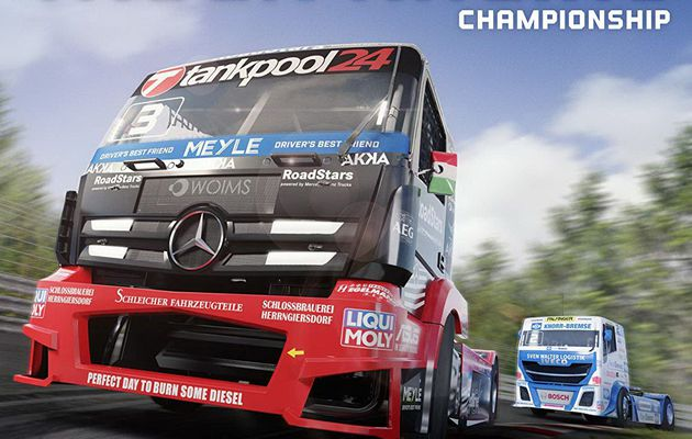 [TEST] FIA EUROPEAN TRUCK RACING CHAMPIONSHIP XBOX ONE X: une question de température de freins...