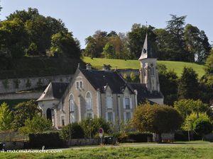 L'église de Chaumont-sur-Loire.