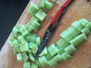 Lassi au concombre et à la menthe, recette au thermomix