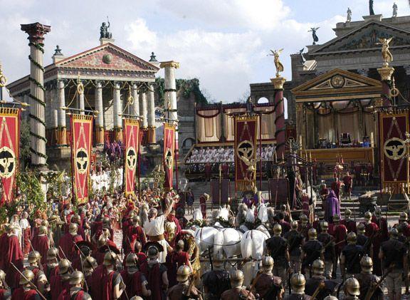 Parade de César à Rome - Cléopâtre