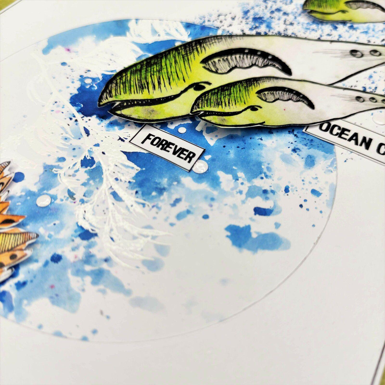 "Carte ""Ocean childs"""